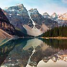 Early Morning at Moraine Lake by Amanda White