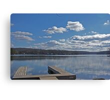 Empty Dock Canvas Print