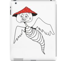 Death-cap mushroom bug iPad Case/Skin