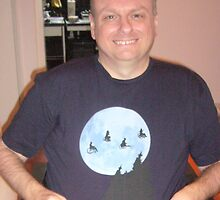 Me in Travellers T-Shirt by Nireus