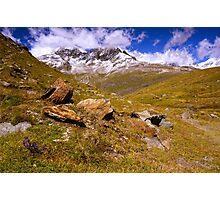 In the Alps Photographic Print