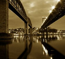 The Passage (sepia) by phil hemsley