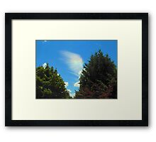 The Journey Begins - On an Angel's Wing Framed Print