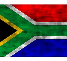 Distressed South Africa Flag by kwg2200