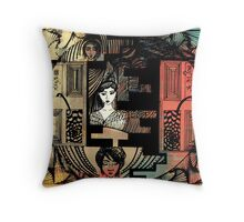 Dream Ilustration Throw Pillow