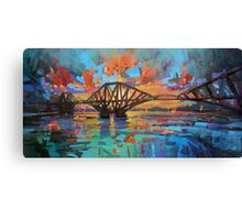 Forth Bridge Dawn Canvas Print