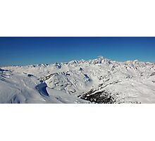 Mt Blanc Photographic Print