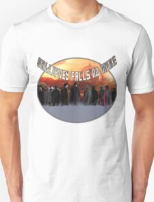 Gallifrey Throw T-Shirt