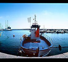 Sardinia - fishing port by JimFilmer