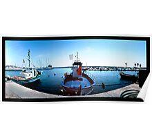 Sardinia - fishing port Poster