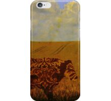 I am a vintage cow iPhone Case/Skin