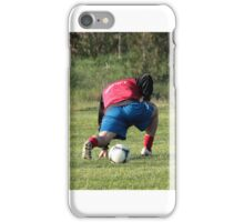 football player iPhone Case/Skin