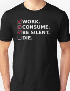 The Good Consumer's Manifesto T-Shirt