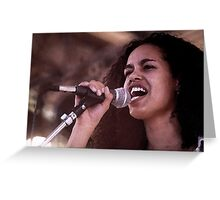 Christine Anu @ ABC Protest Greeting Card