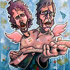 Bret and Jemaine by Craig Medeiros