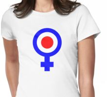Female mod Womens Fitted T-Shirt