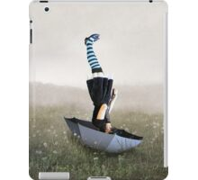 Umbrella melancholy iPad Case/Skin