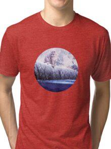 Inquisitive Huntress Tri-blend T-Shirt