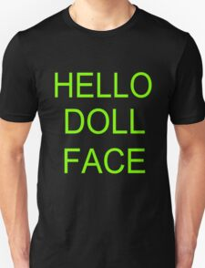 hello doll face Unisex T-Shirt