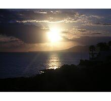 Sunset, Lanzarote Photographic Print