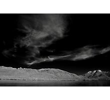 Clouds at Te Anau Photographic Print