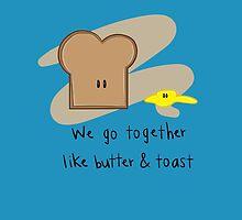 We go together... by MsCookieTea