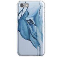 Blue horse eye  iPhone Case/Skin