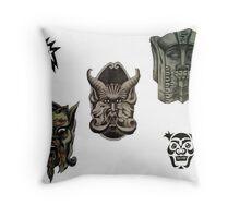 Even More Creatures Throw Pillow