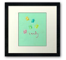 candy (2015) Framed Print