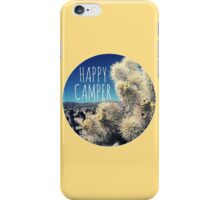 Happy Camper Cactus Print iPhone Case/Skin