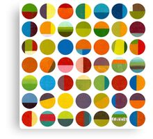 Forty Nine Circles Canvas Print