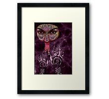 Zipped Framed Print