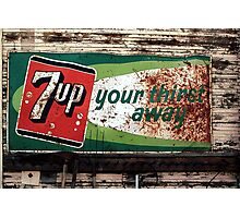 7-Up Your Thirst Away Photographic Print