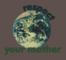 Respect earth day Kids Clothes