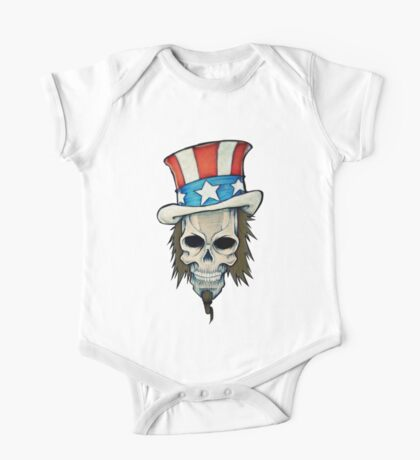 T-BAGS : Uncle Sam One Piece - Short Sleeve