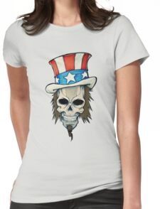 T-BAGS : Uncle Sam Womens Fitted T-Shirt
