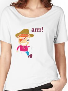 Pirate guy Women's Relaxed Fit T-Shirt
