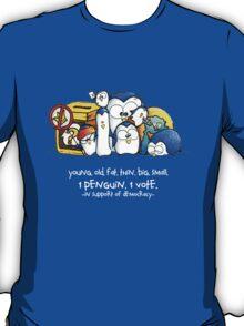 Penguination - 1 Penguin 1 Vote T-Shirt