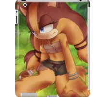 Sticks the Badger (Sonic the Hedgehog) iPad Case/Skin