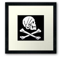 Henry Every Pirate Flag Framed Print
