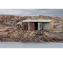 Boat Shed Photographic Print