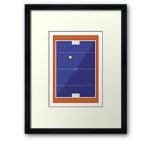 SPORT PERSPECTIVE - WATERPOLO Framed Print
