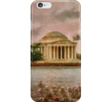 Dawn Over The Jefferson Memorial iPhone Case/Skin