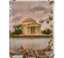 Dawn Over The Jefferson Memorial iPad Case/Skin