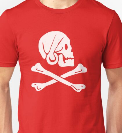 Henry Every Pirate Flag Unisex T-Shirt