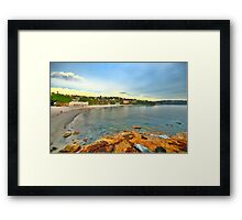 Picturesque - Balmoral Beach - The HDR Experience Framed Print