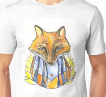 Fox in the forest Unisex T-Shirt
