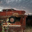 Car at night by Rupert  Russell
