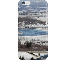 View of Port Williams in Nova Scotia by Bridget Havercroft iPhone Case/Skin