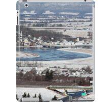 View of Port Williams in Nova Scotia by Bridget Havercroft iPad Case/Skin